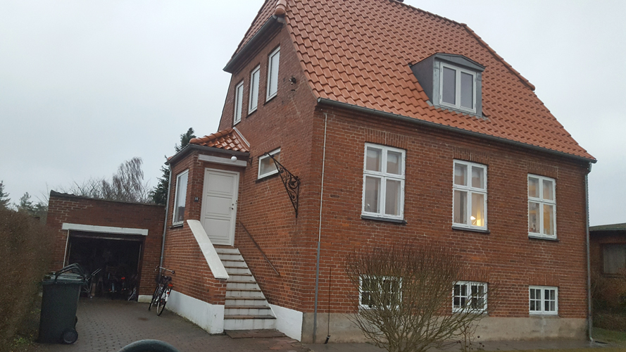 Renoveret facade