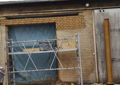 Renovering af vindus- og døråbninger