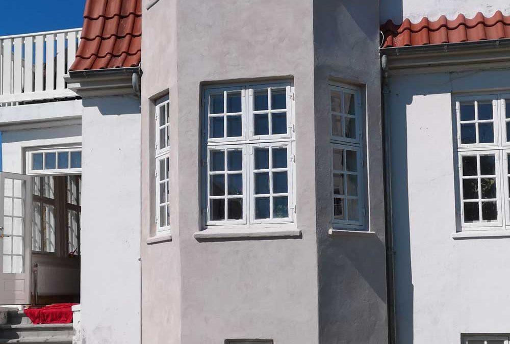 Renoveringer af facade i kalkmaterialer